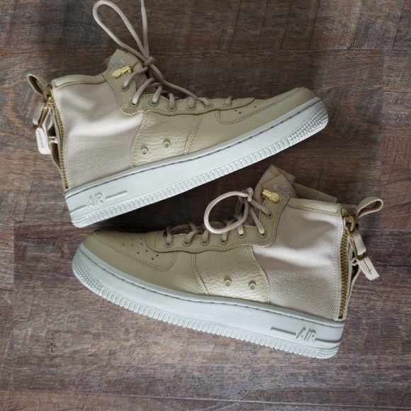 new arrive 397a1 852b6 Nike SF Air Force 1 Mid (GS) NO STRAP